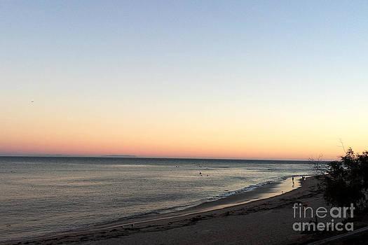 Malibu Beach Sunset by Ioana Ciurariu