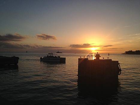 Mallory Square Key West by Tommy Mazza