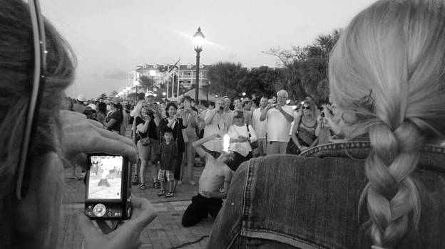 Mallory Square Performer  by Susan Sidorski