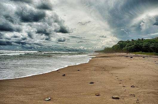 Malpais Beach  by Gary Campbell