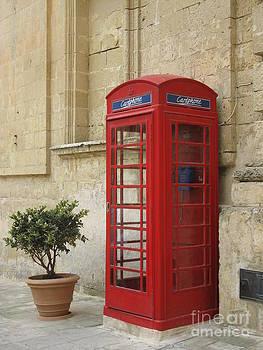Maltese Phone Box by Sara  Meijer