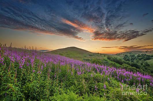 Yhun Suarez - Malvern Hills Sunset