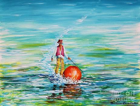 Strolling on the water by Dariusz Orszulik