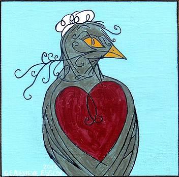 Genevieve Esson - Mama Bird Detail