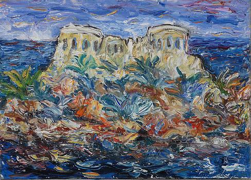 Mamula Island by Borislav Djukanovic