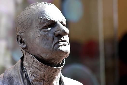Man Statue by Arnold Nagadowski