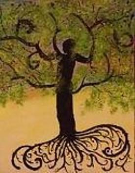 Man Tree of Life by Becca Haney