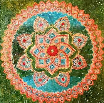 Mandala by Agnieszka Szalabska