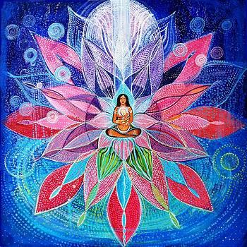 Mandala for Inner Child by Agnieszka Szalabska
