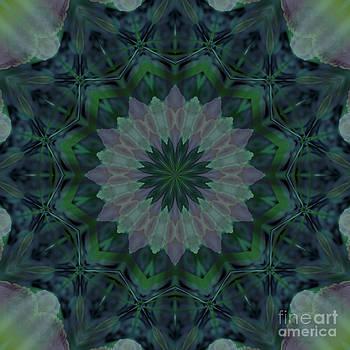 Kathi Shotwell - Mandala - Hagi Green Serene