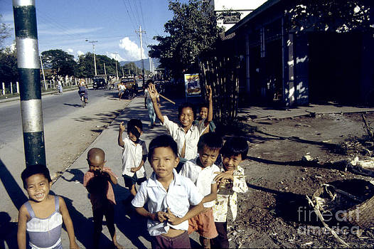 Mandalay Children by Scott Shaw