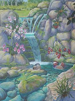 Mandarin  Devotion by Bonnie Golden