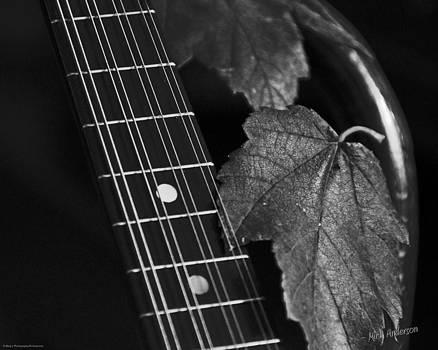 Mick Anderson - Mandolin Autumn Black and White