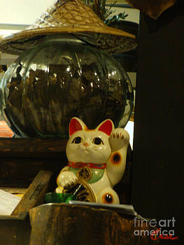 Feile Case - Maneki neko Japanese Beckoning Money Cat 01