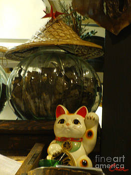 Feile Case - Maneki neko Japanese Beckoning Money Cat 02