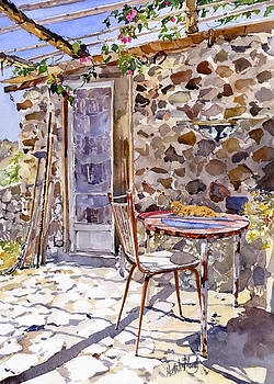Manfreds Cottage by Margaret Merry