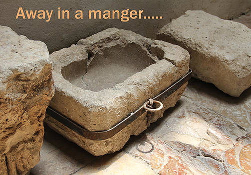 Manger at the Ecce Homo Convent in Jerusalem by Jennifer Kathleen Phillips