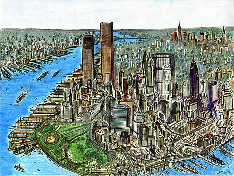 Art America Gallery Peter Potter - New York Downtown Manhattan 1972
