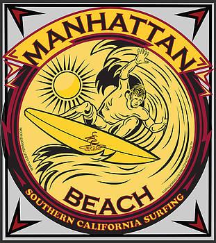 Larry Butterworth - MANHATTAN BEACH CALIFORNIA SURFING