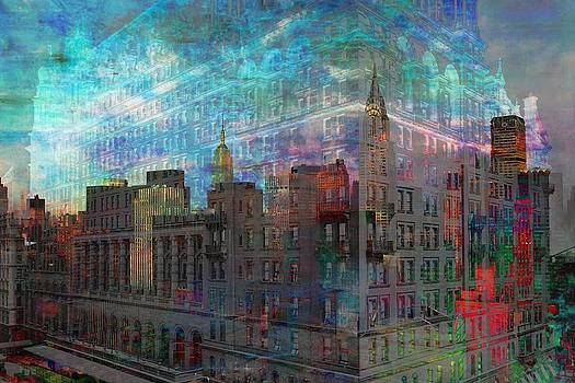 Mary Clanahan - Manhattan Ghostly Cityscape