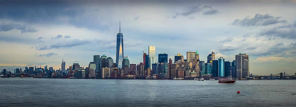 David Morefield - Manhattan Island Skyline