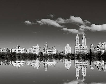 Manhattan Mirror by Irene Suchocki