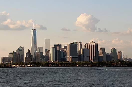 Manhattan Skyscrapers by Rita Tortorelli