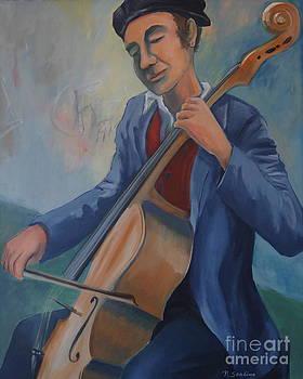 Manhattan Street Player by Noel Sandino