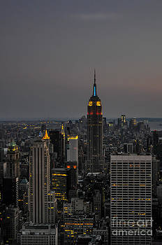 Manhattan Twilight by Chris Holmes