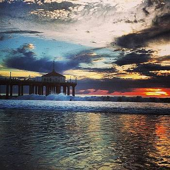 #manhattanbeach #california #beautiful by Julia Goldberg