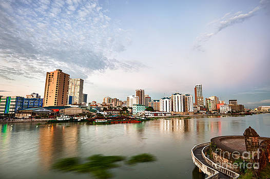 Fototrav Print - Manila skyline at dusk