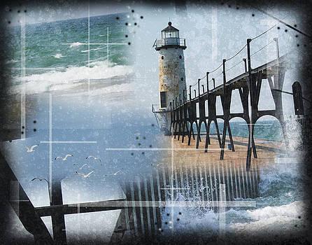 Manistee Lighthouse MI by Andrew Sliwinski
