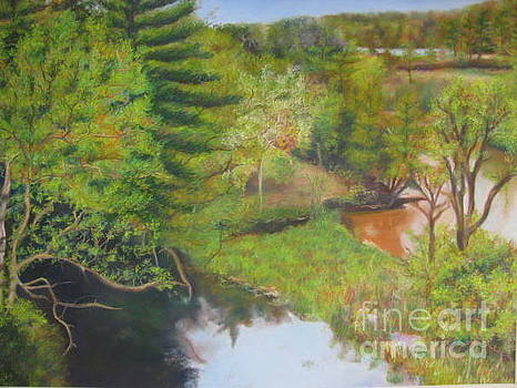 Manistee River by Kathryn Rose