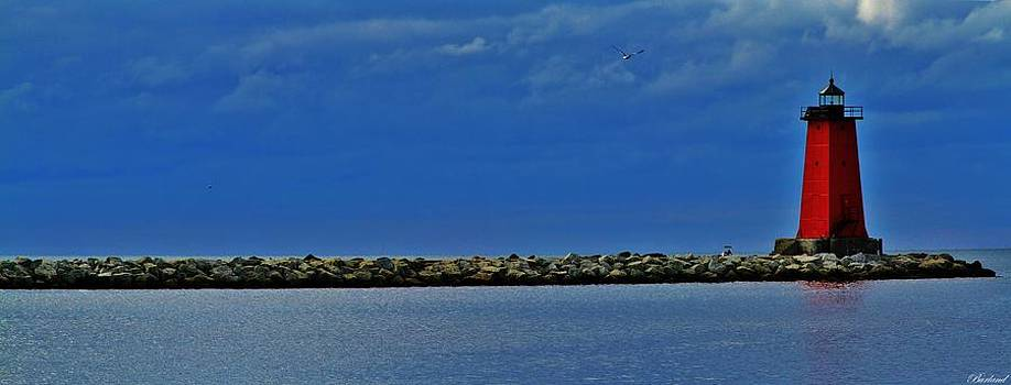 Manistique Lighthouse by Burland McCormick