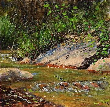 Manitou creek by Greg Clibon