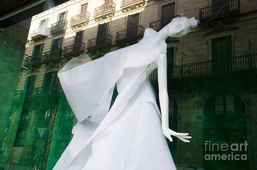 Mannequin in Barcelona by Victoria Herrera