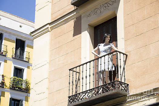 Mannequin in Madrid by Stefano Piccini