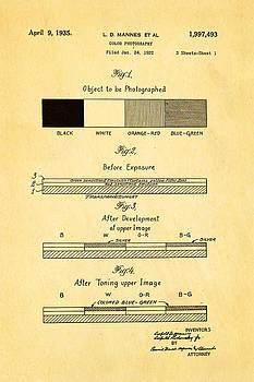 Ian Monk - Mannes Color Photography Patent Art 1935