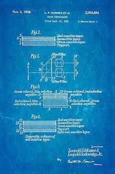 Ian Monk - Mannes Color Photography Patent Art 2 1936 Blueprint