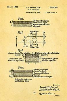 Ian Monk - Mannes Color Photography Patent Art 2 1936