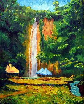 Mantayupan Falls Cebu by Michael Jadach