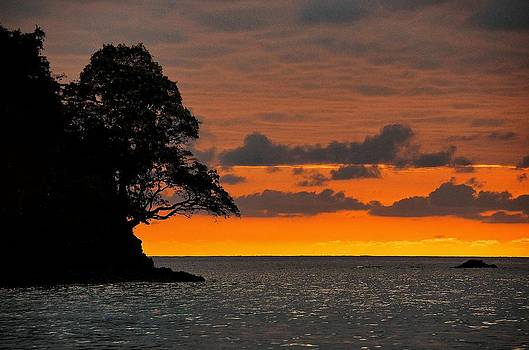 Manuel Antonio Sunset by Gary Campbell