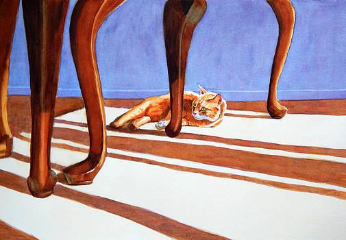 Manx with Queen Anne's Legs by Rachel Armington