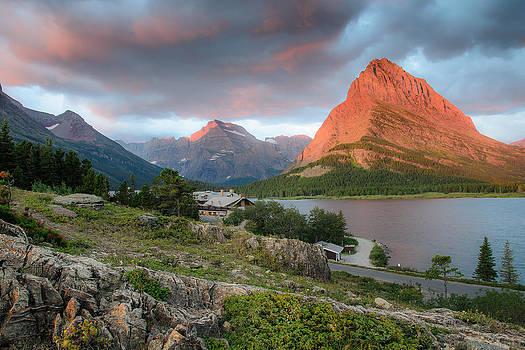 Many Glacier by Larry Fisher