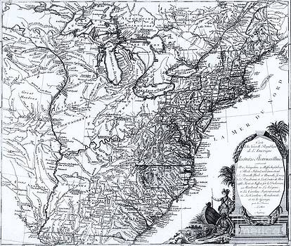 Roberto Prusso - Map of North America 1776