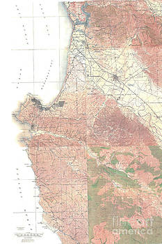 California Views Mr Pat Hathaway Archives - Map of the Monterey California 1912