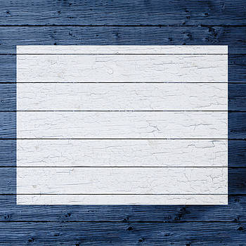 Design Turnpike - Map Of Wyoming State Outline White Distressed Paint On Reclaimed Wood Planks