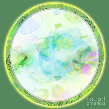 Map Plate by Gabrielle Schertz