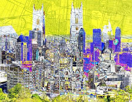 Mary Clanahan - Mapping Montreal City Art