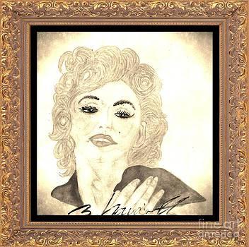 Maradonna In Between Of Maralyn Manroe And Madonna Vintage special by Sylvia Howarth